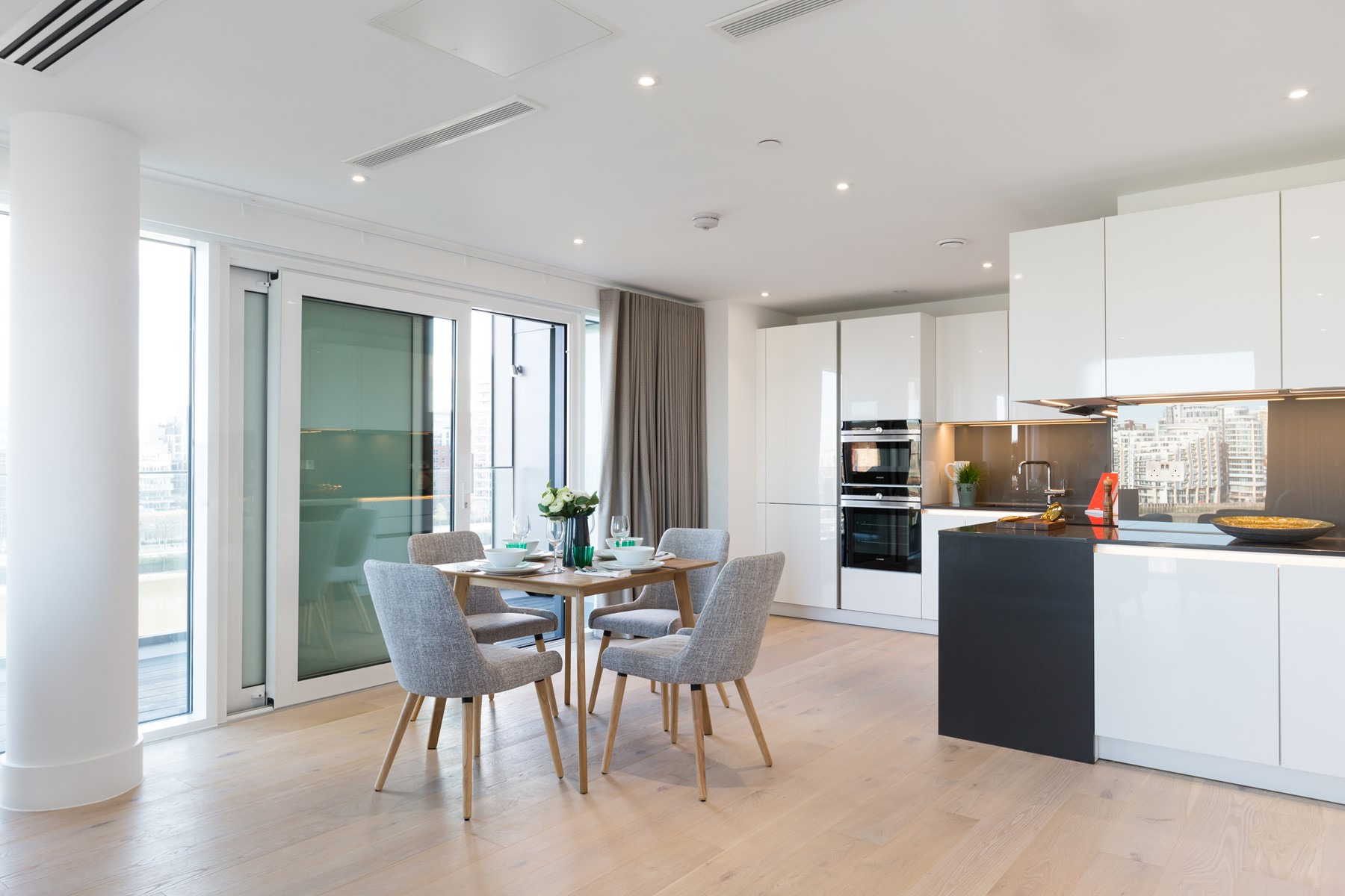 Open Plan Living Area | Fulham Riverside | MyLo London