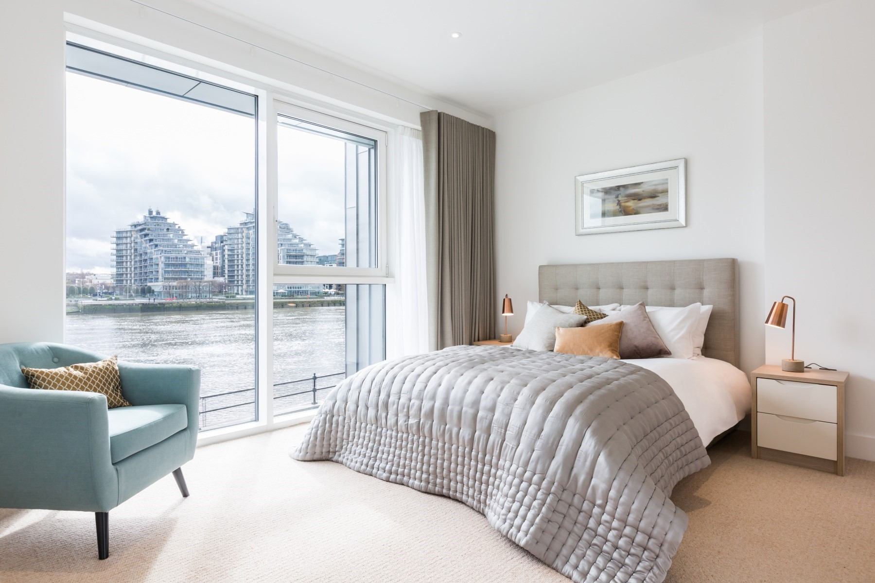 Bedroom 2 Bedroom Apartment | Fulham Riverside | MyLo London