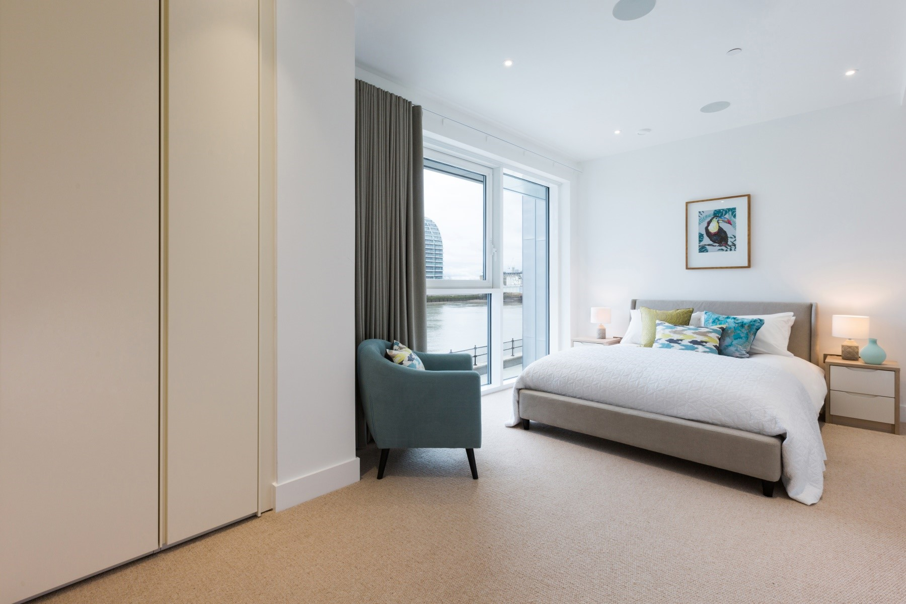 2nd Bedroom, 2 Bedroom Apartment | Fulham Riverside | MyLo London