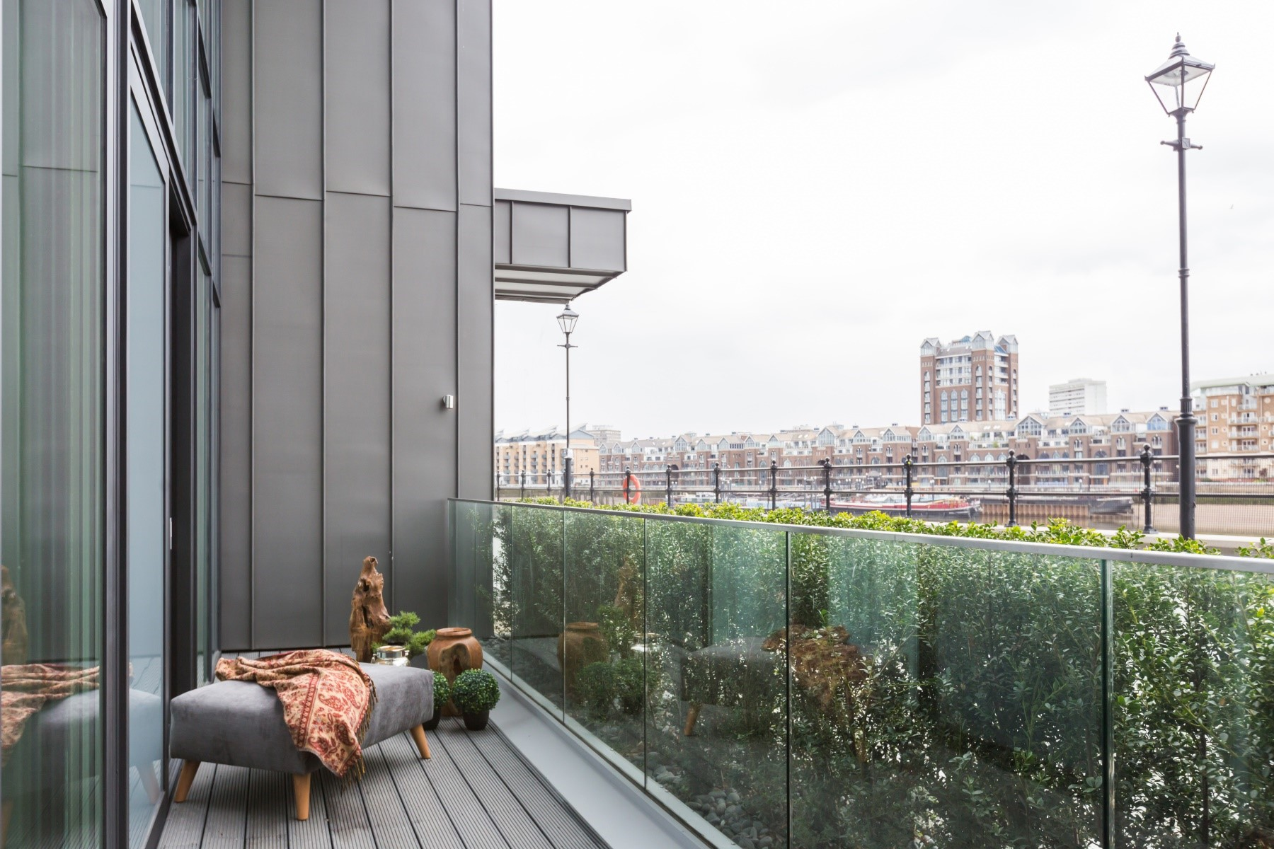 Apartment Balcony | Fulham Riverside | MyLo London