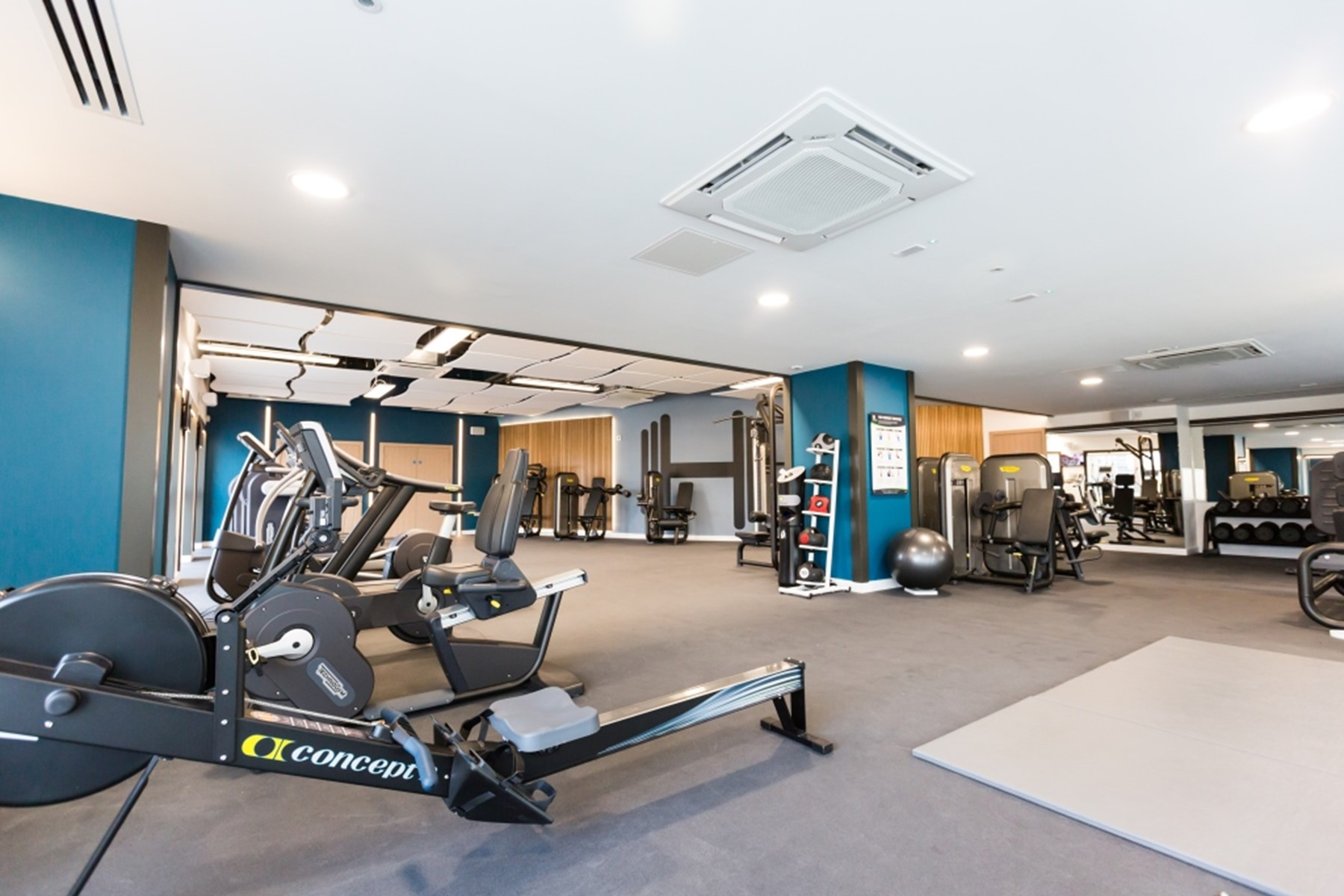 Residents onsite gym | Fulham Riverside | MyLo London