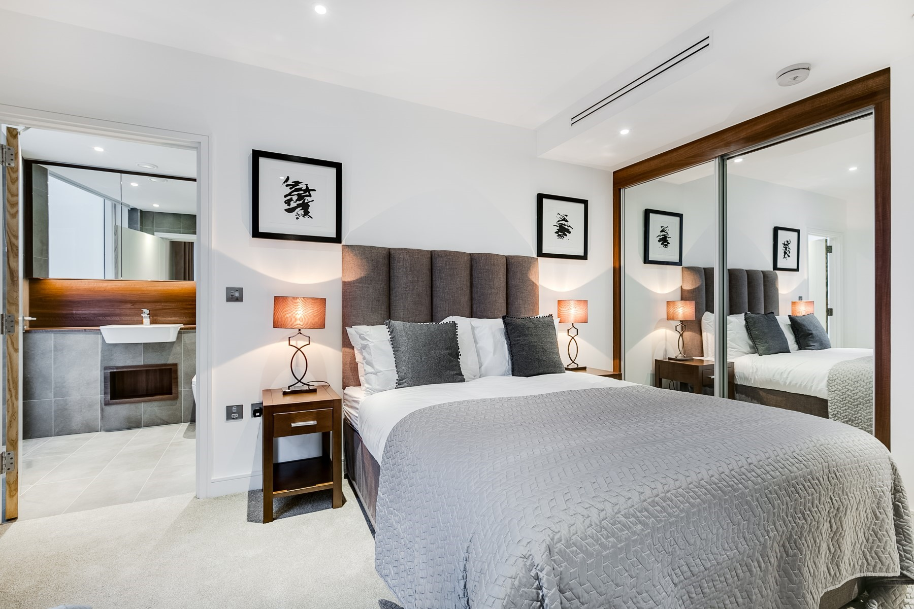 En Suite Bedroom | Nine Elms Point | MyLo London