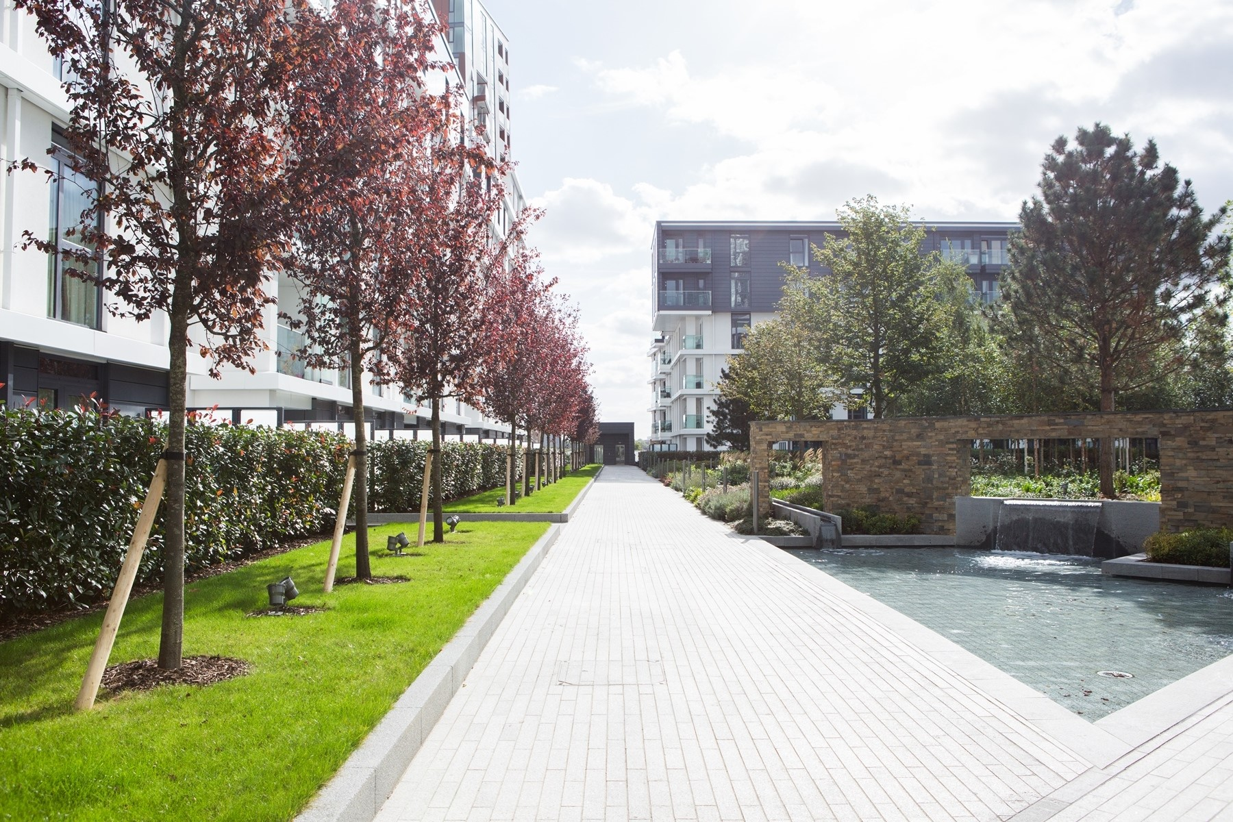 Communal Garden | Nine Elms Point | MyLo London